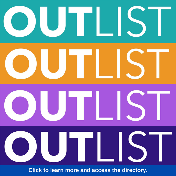 OUTList: Click to learn more and access the directory.